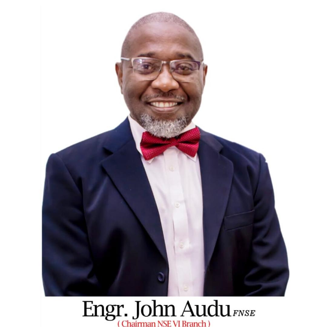 Engr. John Audu, FNSE MASC FNICE